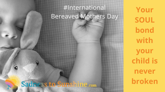 Bereaved mothers coping with Mothers day