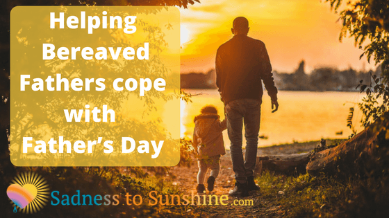helping bereaved fathers cope with their grief on fathers day babyloss miscarriage stillbirth